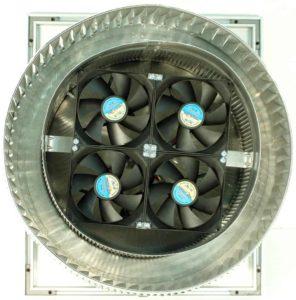 Aura Solar Fan Retrofit Vent Cap ASF-10-bottom