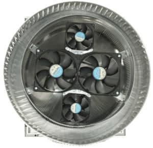 12 inch Aura Solar Attic Fan