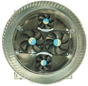Aura Solar Fan Retrofit Vent Cap ASF-12-bottom