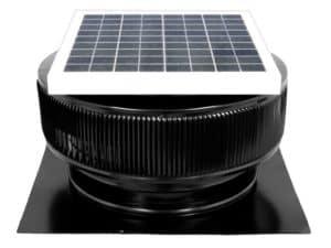 Solar Attic Fan - Aura Solar Fan ASF-14-C2-BL2