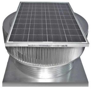 Solar Attic Fan - Aura Solar Fan with Curb Mount Flange ASF-30-C06-CMF-specs