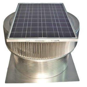 Solar Attic Fan - Aura Solar Fan ASF-30-C12-angle-1