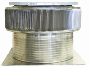 Solar Attic Fan - Aura Solar Fan ASF-30-C12-side-1