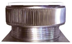 Solar Attic Fan - Aura Solar Fan ASF-30-C4-side