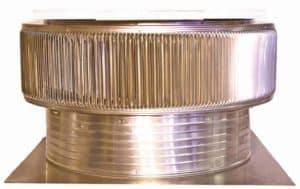 Solar Attic Fan - Aura Solar Fan ASF-30-C6-side