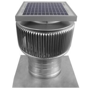 Solar Attic Fan - Aura Solar Fan ASF-6-C4