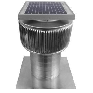 Solar Attic Fan - Aura Solar Fan ASF-6-C6