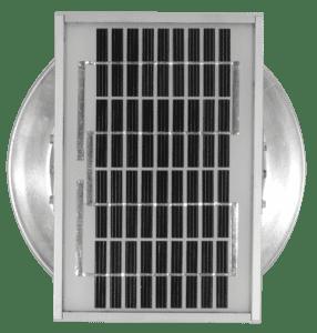 6 inch Aura Solar Attic Fan