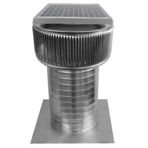 Solar Attic Fan - Aura Solar Fan ASF-8-C12