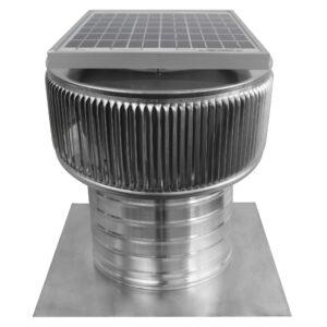 Solar Attic Fan - Aura Solar Fan ASF-8-C6