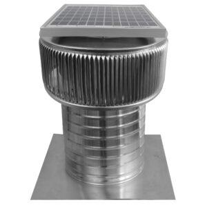 Solar Attic Fan - Aura Solar Fan ASF-8-C8