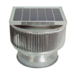 Aura Solar PVC Pipe Cap Fan - ASF-8-PVC