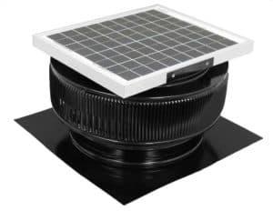 Solar Attic Fan - Aura Solar Fan HD-ASF-14-C2-BL2