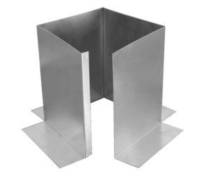 Pitch Pan Open View - 6 inch diameter pitch pan