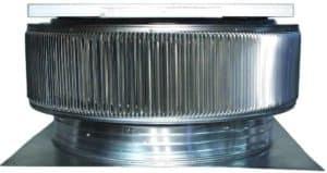 Solar Attic Fan - Aura Solar Fan ASF-30-C2-side