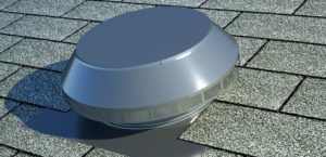 Roof Louver - Pop Vent for Exhaust PV-12-C1-Weatherwood