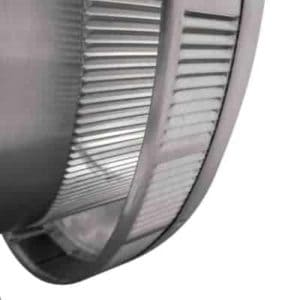 Roof Louver - Pop Vent for Exhaust PV-14-C1-inner louvers