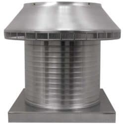 Roof Louver for Air Intake - Pop Vent with Curb Mount Flange PV-16-C12-CMF-1-e1524578049170