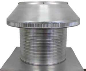 Roof Louver PVC Pipe Cap PV-16-C12-side