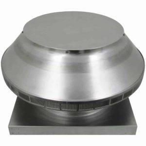 Roof Louver for Air Intake - Pop Vent with Curb Mount Flange PV-16-C4-CMF-angle
