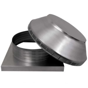 Roof Louver for Air Intake - Pop Vent with Curb Mount Flange PV-16-C4-CMF-removed