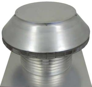 Roof Louver for Air Intake - Pop Vent  PV-16-C8-angle