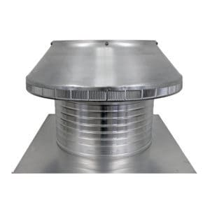 Roof Louver for Air Intake - Pop Vent PV-16-C8