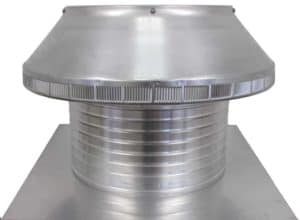Roof Louver PVC Pipe Cap PV-16-C8-side