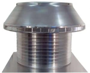 Roof Louver PVC Pipe Cap PV-18-C12-side