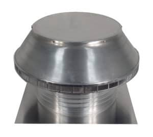 Roof Louver for Air Intake - Pop Vent PV-18-C6