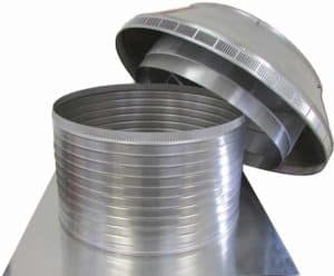 Roof Louver PVC Pipe Cap PV-20-C12-removed