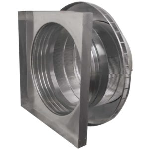 Roof Louver for Air Intake - Pop Vent with Curb Mount Flange PV-20-C4-CMF-inside louvers