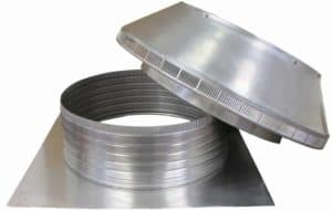 Roof Louver PVC Pipe Cap PV-20-C6-removed