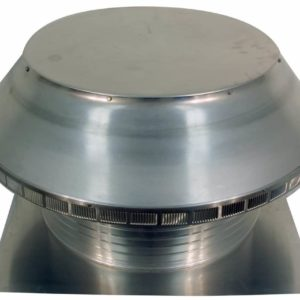 Roof Louver for Air Intake - Pop Vent  PV-24-C8-angle