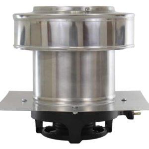 Round Back Roof Mounted Power Attic Ventilator