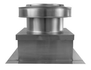 10 inch Static Roof Vent on Roof Curb