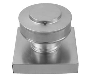 Round Back Static Vent