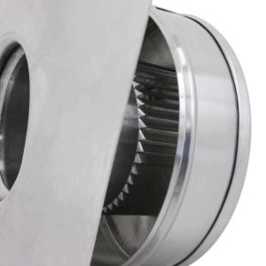 Static Vent Round Back RBV-3-C2-louvers