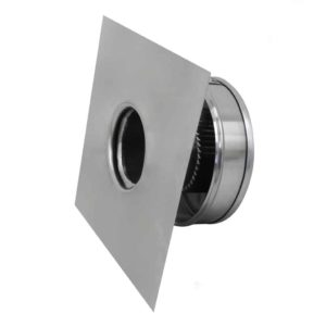 Static Vent Round Back RBV-3-C2-side view