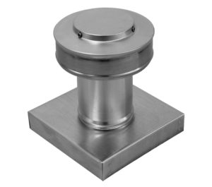 Static Vent with Curb Mount Flange