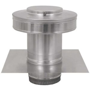 Residential Round Back Roof Jack Vent Cap RBV-4-C4-TP-1