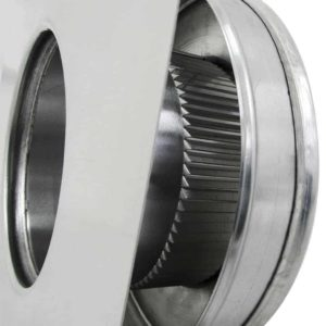 Static Vent Round Back RBV-5-C2-louvers
