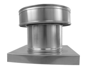 Side View - roof vent