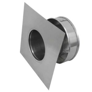 Static Vent Round Back RBV-6-C4-side view