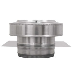 Residential Round Back Roof Jack Vent Cap RBV-8-C2-TP-20