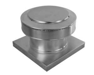 8 inch Round Back Static roof vent