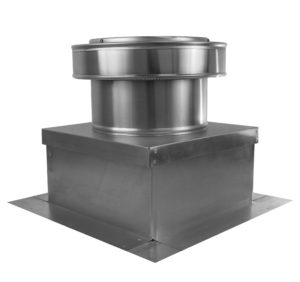 Roof Vent on Roof Curb