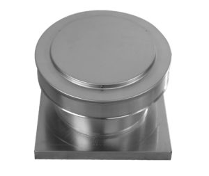 Round Back Static roof vent