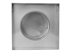 Static Vent Round Back with Curb Mount Flange rbv-8-c2-cmf-bottom