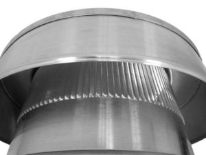 Static Vent Round Back with Curb Mount Flange rbv-8-c2-cmf-louvers